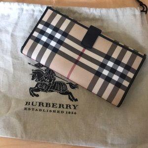 Genuine Burberry Nova Check Wallet